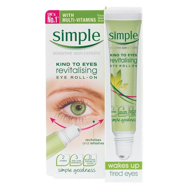 hilangkan eyebag guna revitalising eye roll